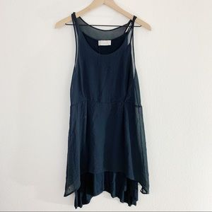 NWOT Zara Basic Black Top Size S